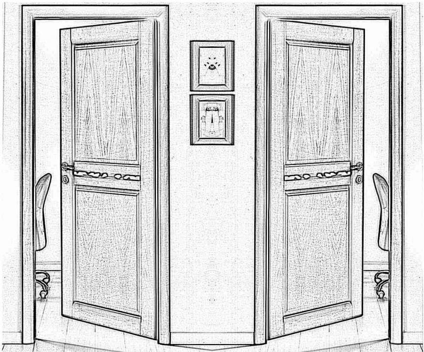 Дверь Акма Light Стекло матовое оптивайт
