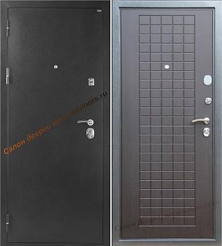 входные двери с цветом венге внутри